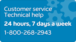 Customer Support Technical Help 24x7 1-800-268-2943